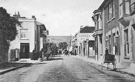 Cosham High Street old