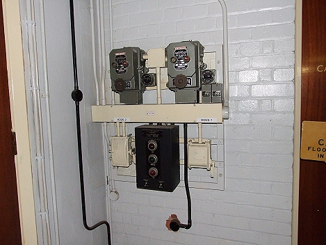Pump starter switches