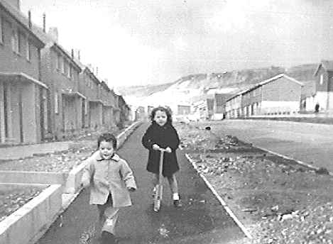 Children playing at Paulsgrove